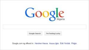 Google.com Now In Nigeria's 3 Major Ethnic Languages
