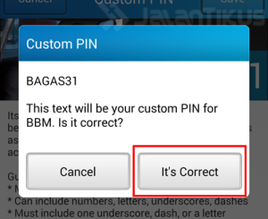 How To Customize Your BBM PIN