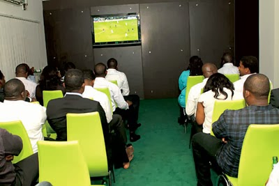 Football Viewing Center