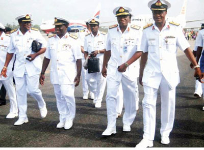 Nigerian Navy Ranks, Symbols & Salary Structure (2019)