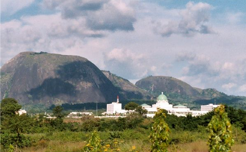 aso rock villa - a view from afar