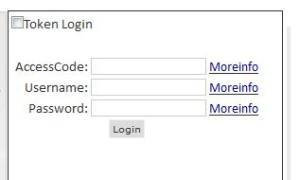 login without token