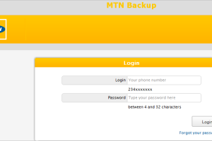 MTN Backup: How To Go About It