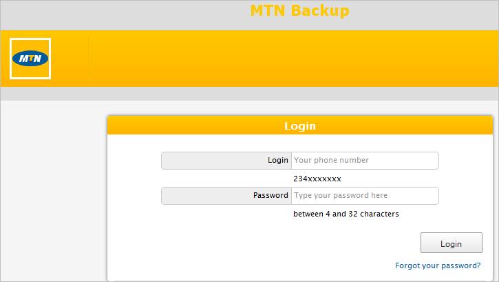 MTN Backup
