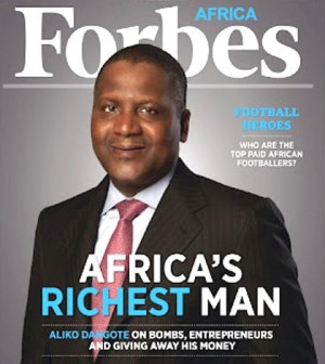 Aliko Dangote: Net Worth