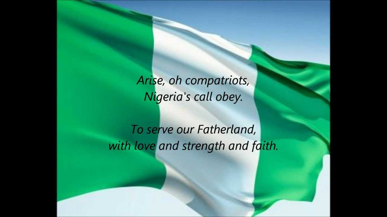 Nigerian National Anthem: All You Need To Know