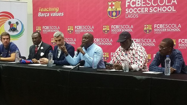 how to join barcelona academy in lagos
