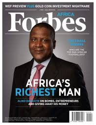 Nigerian Billionaires Full List (Forbes)