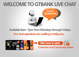 GTBank Live Chat: Link + How to Use