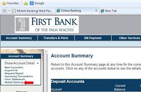 First Bank Internet & Mobile Banking Guide