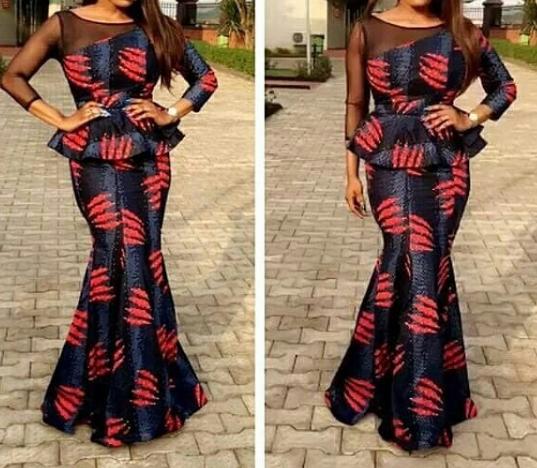 ankara skirt and blouse styles 1