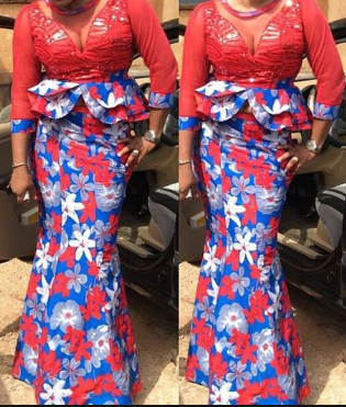 25 Latest Ankara & Lace Styles (Combo) for Women ([year])