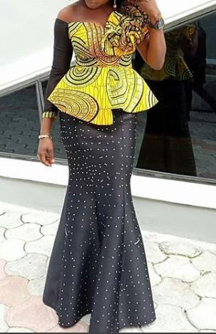 ankara skirt and blouse styles 2
