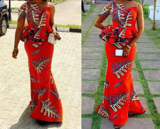 ankara and lace styles 3