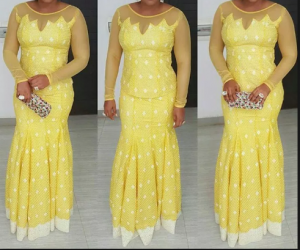 nigerian lace style for wedding