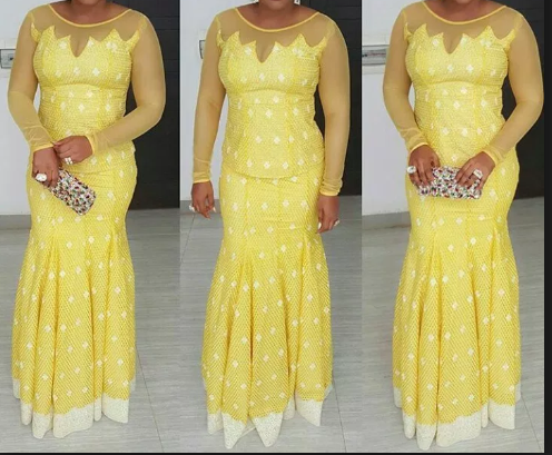 Nigerian Lace Styles For Weddings Other Events 2020
