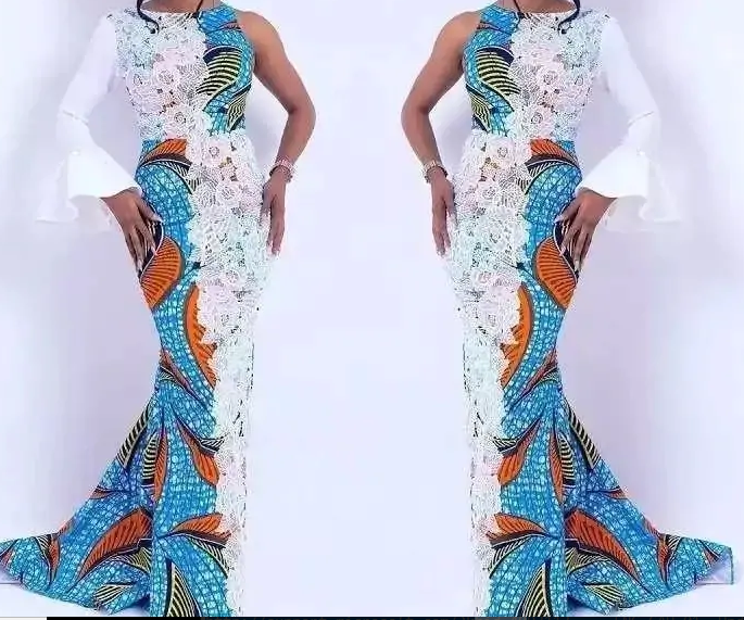 ankara and lace styles 5