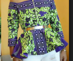 Off-shoulder Ankara Tops: ([year]) Latest Styles