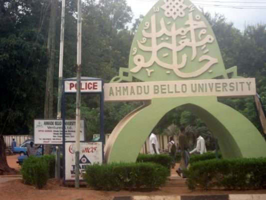 List of Science Courses Offered in ABU Zaria