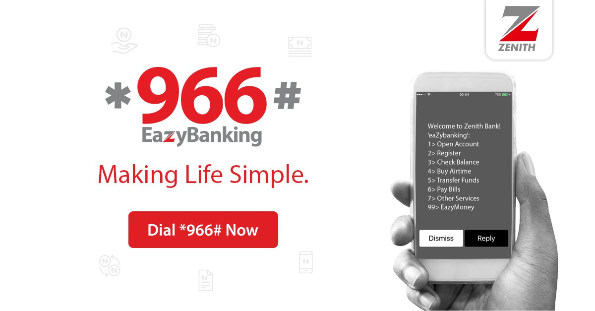 Zenith Bank USSD transfer code: How to use