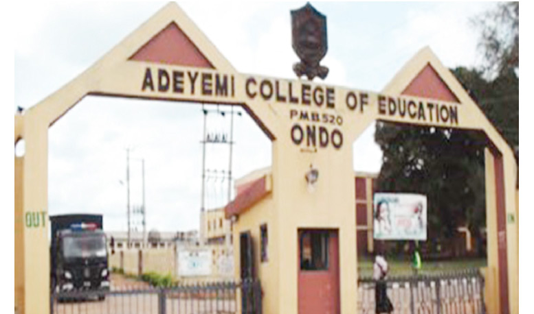 Adeyemi College of Education Direct Entry Requirements