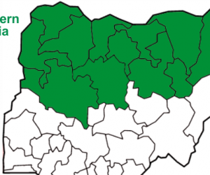 List of Northern States in Nigeria