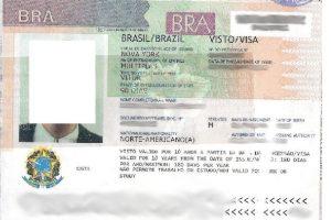 Brazil Visa Requirements for Nigerians
